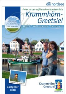 greetsiel krummhoern reisekatalog cover